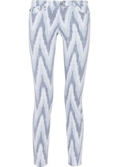 AG Adriano Goldschmied AG Jeans The Stilt printed skinny jeans