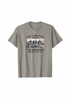 3sixteen 2nd Amendment T-shirt. Native American photo. gun control