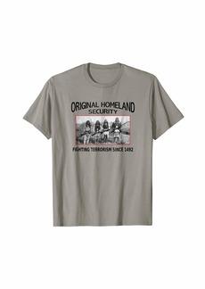 3sixteen Homeland Security shirt. fighting terrorism. Native American