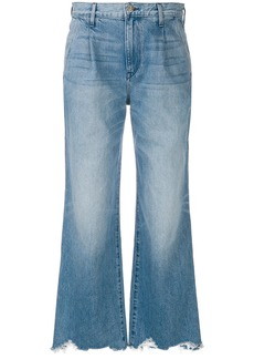 3X1 flared distressed jeans - Blue