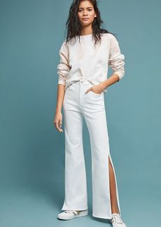 3x1 NYC Adeline High-Rise Split Flare Jeans