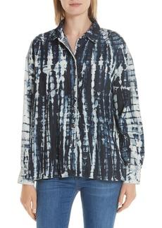 3x1 NYC Drew Tie Dye Oversize Shirt
