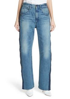 3x1 NYC Joy Side Snap Wide Leg Jeans (Riva)