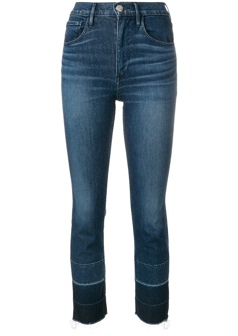 3x1 Shelter straight cropped jeans