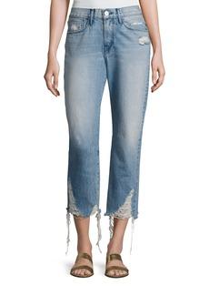 3x1 W3 Cropped Boyfriend Jeans