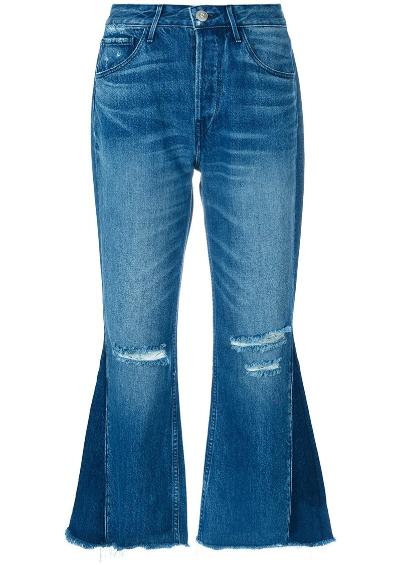 3x1 W4 Higher Ground Gusset Crop jeans