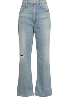 3x1 Woman Addie Distressed Boyfriend Jeans Light Denim