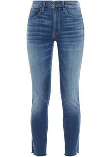 3x1 Woman Nora Mid-rise Skinny Jeans Mid Denim