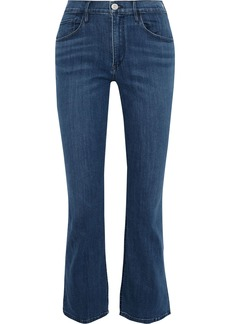 3x1 Woman High-rise Kick-flare Jeans Mid Denim