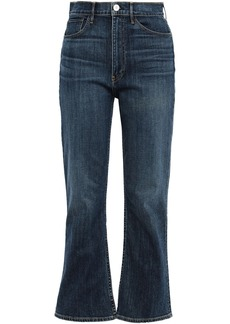 3x1 Woman Empire High-rise Kick-flare Jeans Mid Denim