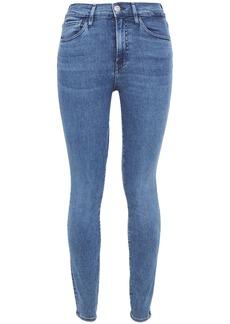 3x1 Woman Kaia High-rise Skinny Jeans Mid Denim