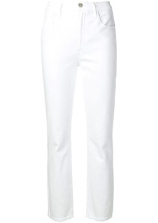 3x1 Collette slim cropped trousers