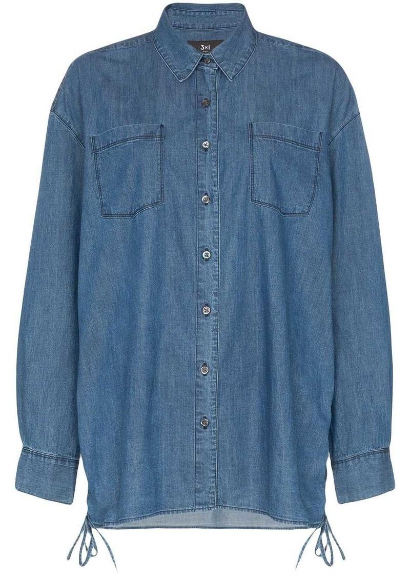 3x1 Corin denim shirt