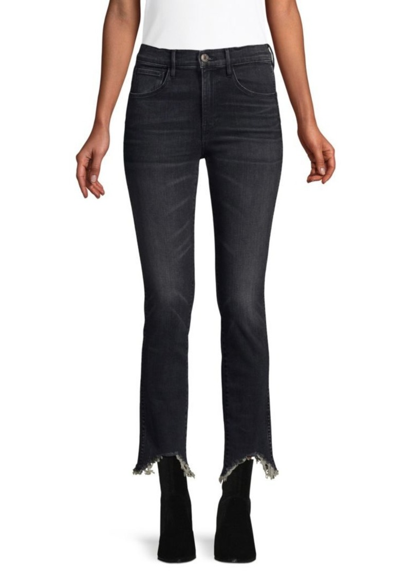 3x1 Elise Authentic Straight Crop Jeans