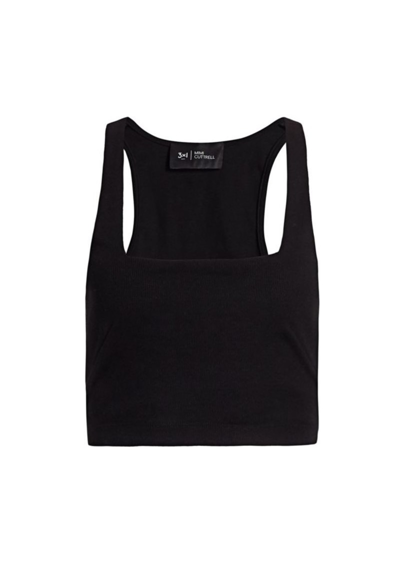 3x1 G.I Ribbed Cropped Tank Top