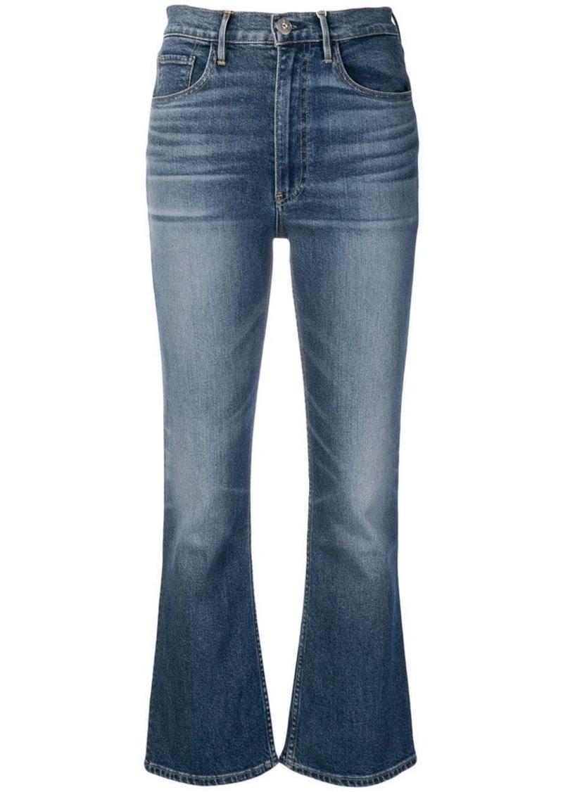 3x1 high-waist cropped jeans