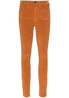 3x1 Kaia high-rise corduroy slim-leg trousers