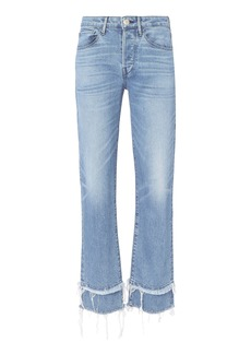 3x1 Petal Higher Ground Slim Cropped Jeans