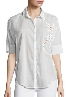 3x1 Sally Salamander Cut-Out Shirt