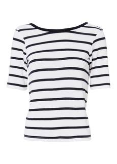 3x1 Twist Open Back T-Shirt