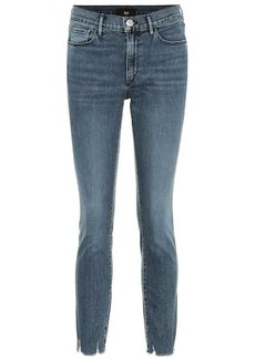 3x1 W2 cropped mid-rise skinny jeans