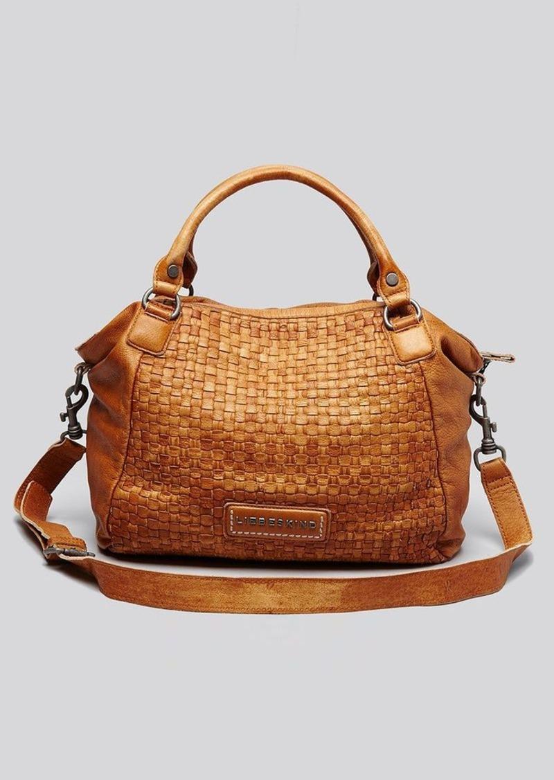 liebeskind liebeskind satchel 3d plait michelle handbags shop it to me. Black Bedroom Furniture Sets. Home Design Ideas