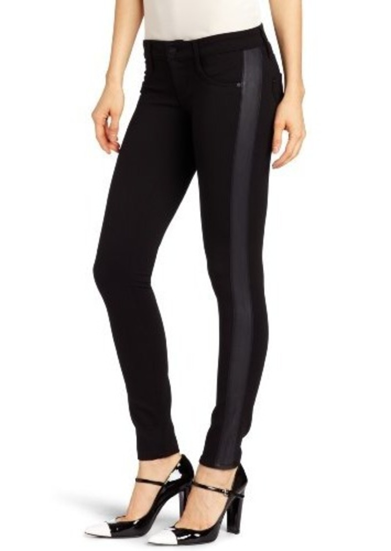 James Jeans Women's Tuxedo Side Detail Jean