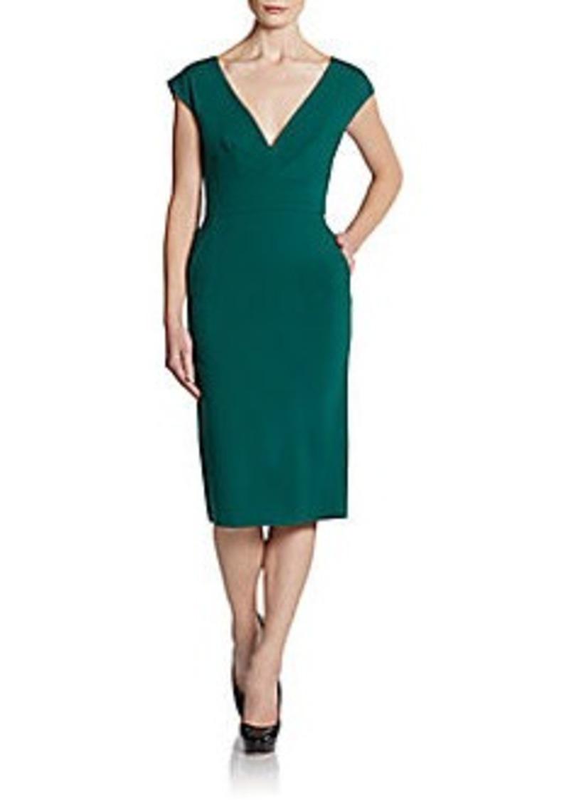 Catherine Malandrino Afina V-Neck Dress