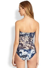 Jean Paul Gaultier Two-Piece Floral Tulle Tankini