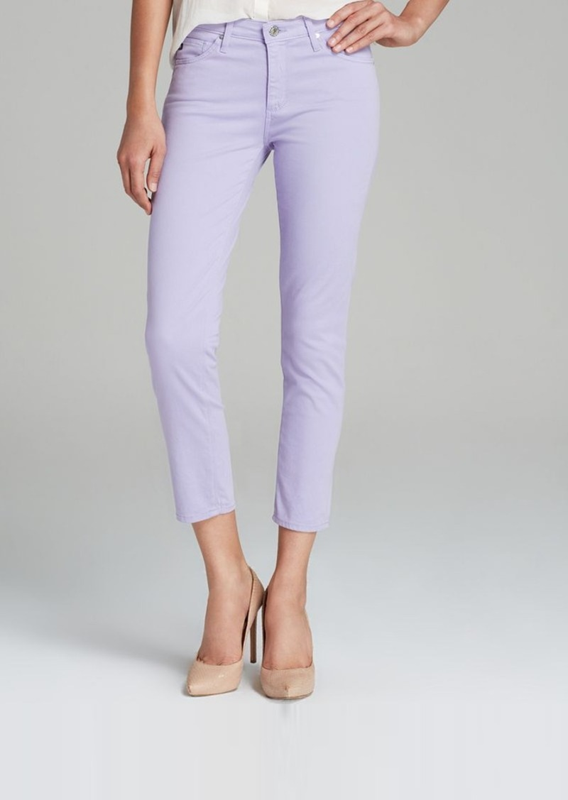 AG Adriano Goldschmied Jeans - Exclusive Prima Crop in Soft Lilac