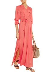 T-Bags Satin-crepe maxi dress