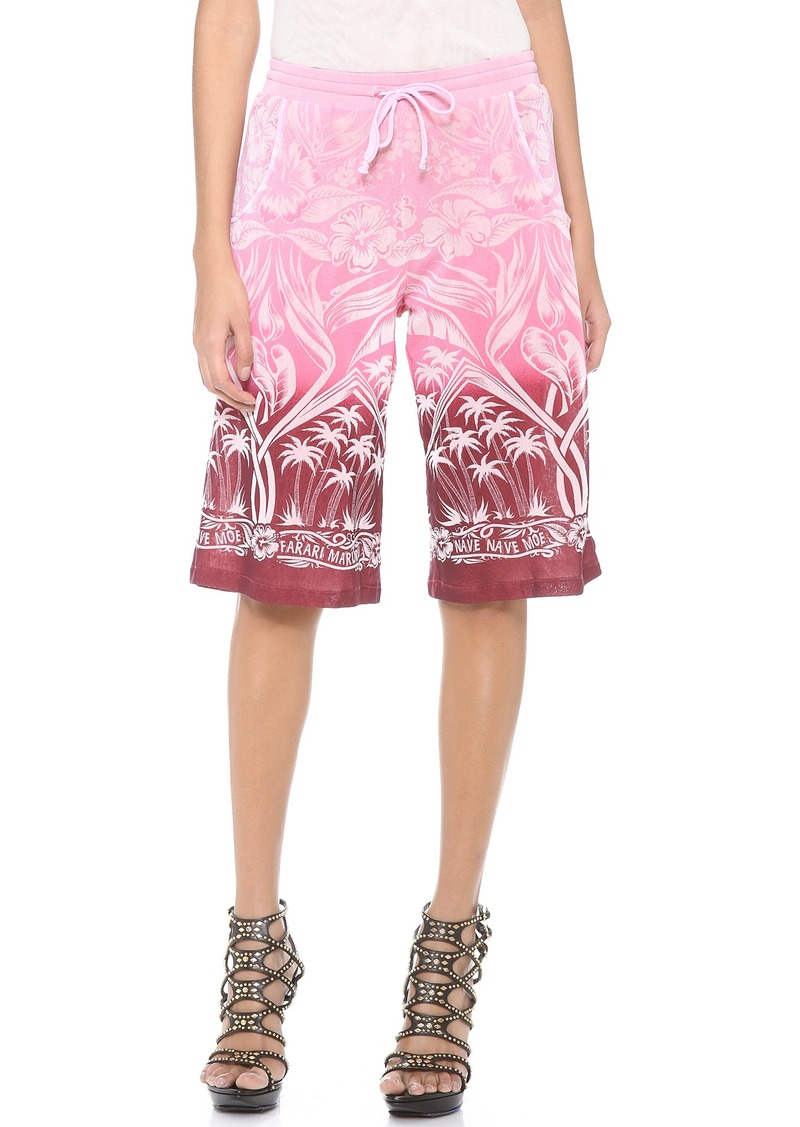 Jean Paul Gaultier Printed Shorts