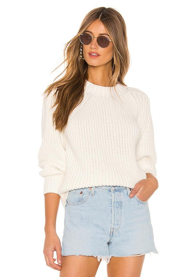 525 america Balloon Sleeve Sweater