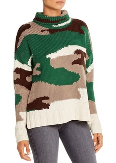 525 America Camouflage Turtleneck Sweater