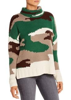 525 America Camouflage Turtleneck Sweater