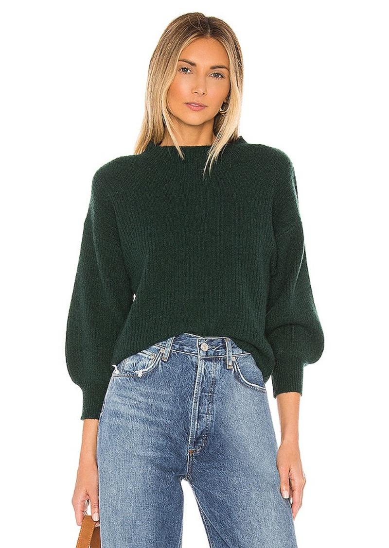 525 america Cashmere Blouson Sleeve Sweater