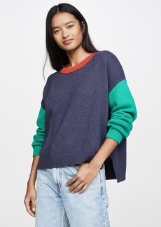 525 America Colorblock Crew Sweater