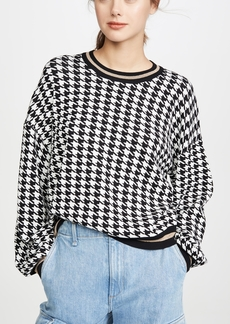 525 America Houndstooth Pullover