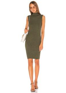 525 america Mock Neck Dress