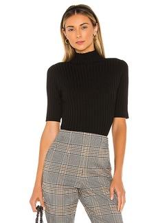 525 america Mock Neck Pullover Sweater