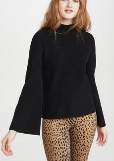 575 Denim 525 Mock Neck Shaker Sweater