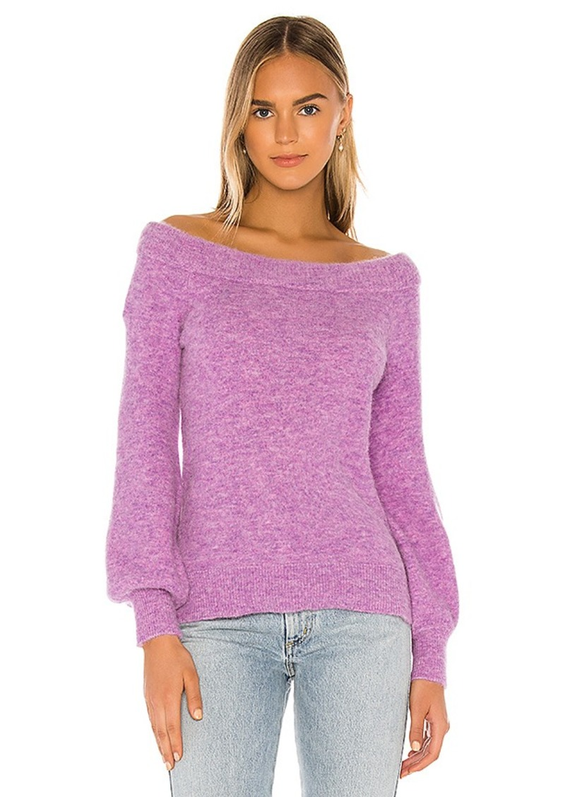 525 america Off The Shoulder Pullover Sweater