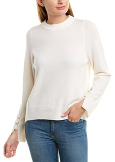 525 America Pearl Bead Cashmere Sweater