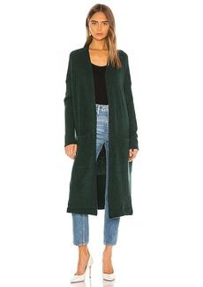 525 america Plaited Cashmere Coat Cardigan