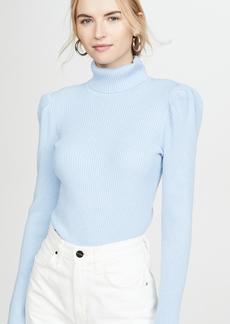 575 Denim 525 Puff Sleeve Pullover