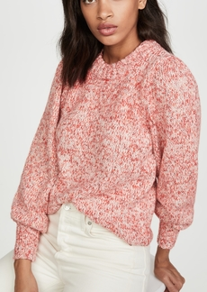 575 Denim 525 Puff Sleeve Sweater
