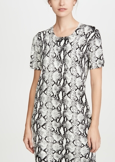 575 Denim 525 Python Sweater Dress