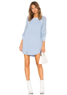 525 america Raglan Sleeve Sweater Dress