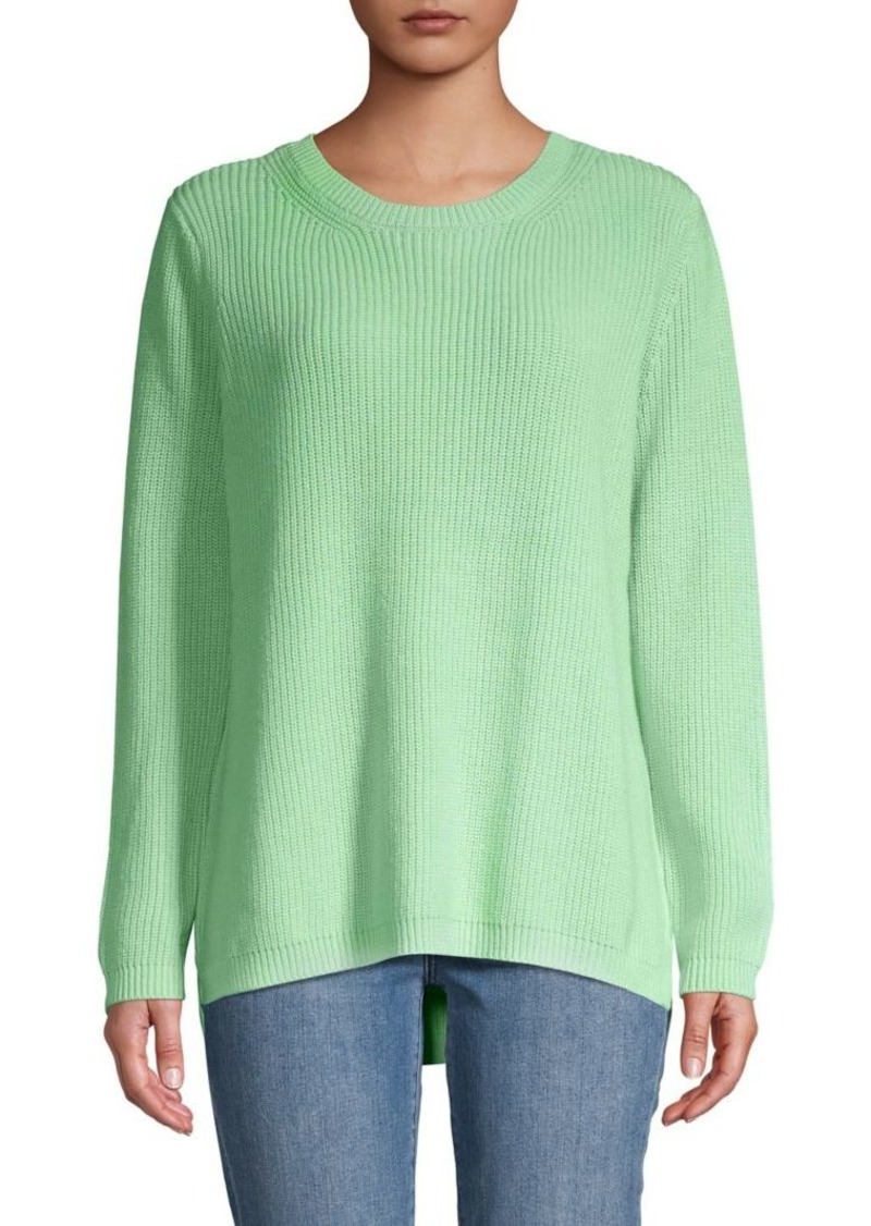 525 America Ribbed Cotton Sweater