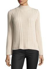 525 America Ribbed Mock-Neck Sweater